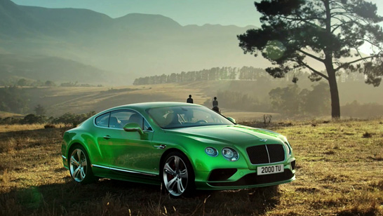 bentley tv commercial werner maritz cinemaphotographer