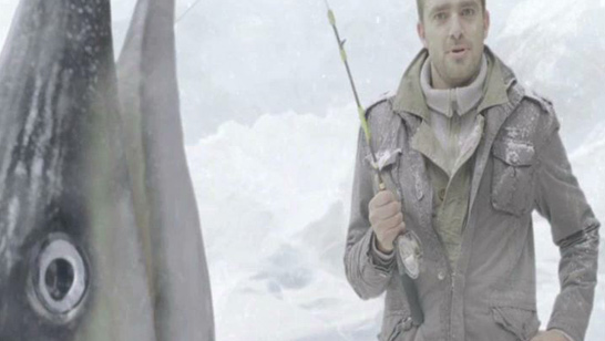 werner maritz cinematographer castle lite ice fishing tv commercial